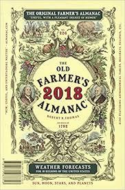 The Old Farmer's Almanac 2018