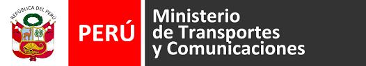 Resultado de imagen para logo ministerio de transporte y comunicaciones