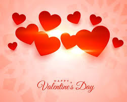 Free Vector | Lovely <b>glowing</b> happy <b>valentines day</b> background