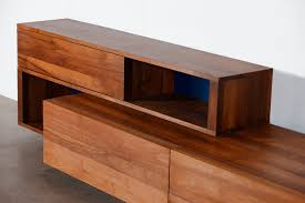 contemporary sideboard elm maple cherrywood log by michael schneider artisan solid wood furniture affordable home wooden sideboard furniture