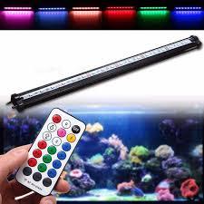 45CM RGB <b>SMD5050</b> Rigid <b>LED</b> Strip Light Air Bubble Aquarium ...