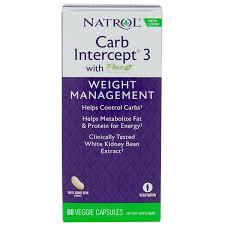 Отзывы Natrol, <b>Carb Intercept</b> 3, <b>Phase</b> 2, 60 растительных капсул ...