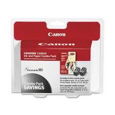 Canon 0615B009 (<b>PG-40</b>/<b>CL-41</b>) ChromaLife100+ <b>Ink</b> & Paper ...