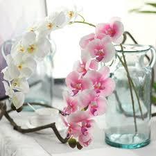 <b>3Pcs</b>/<b>Lot</b> 11 Heads Artificial <b>Phalaenopsis</b> Orchid Flower Real ...
