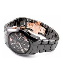 emporio armani ar 1410 black ceramic men s watch buy emporio emporio armani ar 1410 black ceramic men s watch