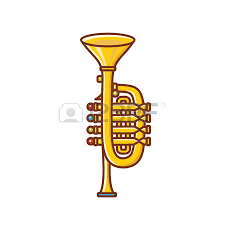 Image result for brass instruments pictures children cartoon