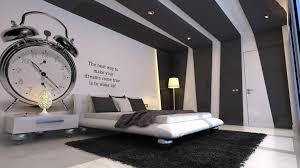white bedrooms clock and bedrooms on pinterest bedroomcool black white bedroom design