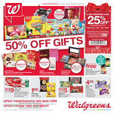 walgreens black friday ad deals walgreens s black friday 2016 adscan