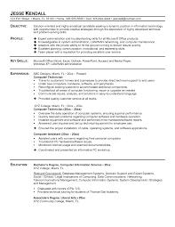 resume it technician  it support technician resume sample  it    resume it technician
