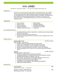 lawyer resume example emphasis   png