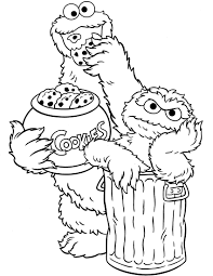 Small Picture Sesame Street Printables Coloring Coloring Pages