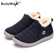 Big size <b>35 44</b> plush women <b>shoes</b> winter couple <b>unisex</b> snow <b>boots</b> ...