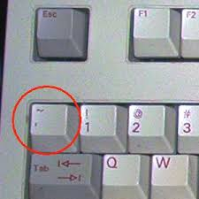 Tilde Key to View Formulas in Excel