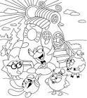 Смешарик раскраска играть онлайн бесплатно