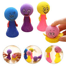 <b>Novelty Bouncing Elf Toys</b> for Children Squeeze Jumping Bounce ...