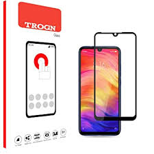 TROGN <b>Tempered Glass for</b> Redmi Note 7 - Full Glue <b>9D</b>: Amazon ...