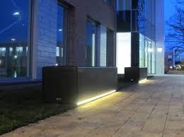 blr200 so blyth concrete bench with led lighting strip bench lighting