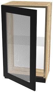 Сити <b>шкаф навесной со</b> стеклом <b>ШСТ</b>-<b>40</b> — купить по цене 4280 ...