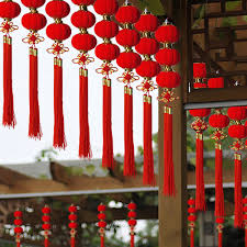Hanging Lantern Spring Festival Traditional Chinese Party <b>30Pcs</b> ...