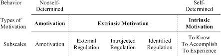 development and evaluation of a chemistry specific version of the 2 the seven types of motivation measured by ams