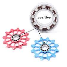 <b>MUQZI Bicycle</b> 12t Positive Negative Tooth <b>Wheel</b> Rear Derailleur ...