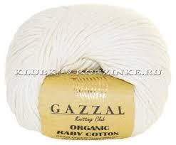 <b>Пряжа GAZZAL Organic</b> Baby Cotton - купить в интернет-магазине ...