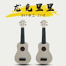 Ukulele 21 Inch Ukulele <b>Diy Small Guitar</b> Kindergarten Handmade ...