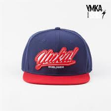 Кепка Ymka Shix navy logo snap (сине-красный) - Бордшоп#1