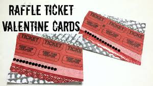 diy valentines raffle ticket valentine cards street style diy valentines raffle ticket valentine cards street style inspired