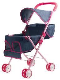 <b>Прогулочная коляска 1 TOY Красотка</b>-Джинс для 2 кукол Т10384 ...