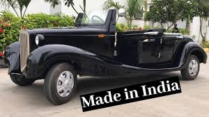 Made in <b>India</b> Vintage <b>Look</b> Electric Cart - <b>Auto</b> Power - YouTube