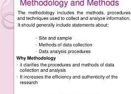 Research paper methodology section example Thesis Methodology RESEARCH METHODOLOGY The criteria for the M A  thesis in  the M A  Counseling Psychology program is stated on page    as follows   Within