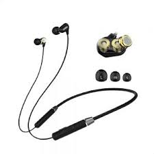 <b>Lenovo HE08 Wireless</b> Earphones - Black : Buy Online Headphones ...