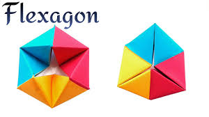Infinite <b>Rotating</b> Tetrahedron | Flexagon - <b>DIY</b> Modular Origami ...
