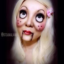 the innocent doll special effects makeup tutorials