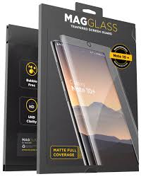 Magglass Galaxy Note 10 Plus <b>Matte Screen Protector</b> (Fingerprint ...