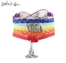 <b>Little MingLou 7 Chakra</b> Infinity Love Yoga Bracelet Hatha Yoga ...