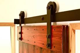 smooth and long lasting wheel barn style sliding doors
