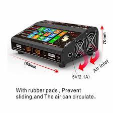 Htrc Ht206 Duo 400w <b>Dual 2 Port Rc</b> Modle Lipo Battery Balance ...
