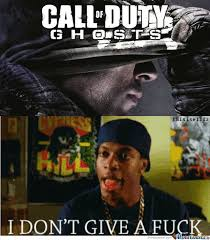 Everyone's Opinion On Cod Ghosts by americannyc - Meme Center via Relatably.com