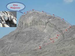 Image result for nur dağı mekke haritası