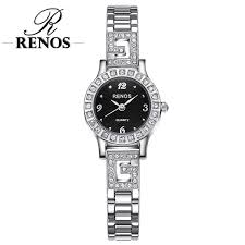 <b>RENOS Women Watch</b> In Box Simple <b>Quartz</b> Wristwatches Fashion ...