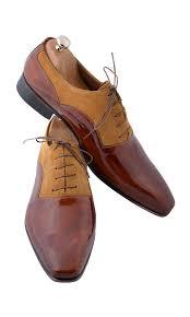 Handmade <b>Wooden Brown Beige</b> Men Shoes