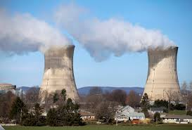 lessons from the nuclear dream retro report the unit 1 cooling towers of the three mile island nuclear power plant rise above a neighborhood of houses off river road in londonderry township pa