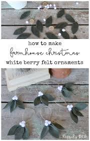 How To Make Farmhouse White <b>Berry Ornaments</b> - Raggedy Bits ...
