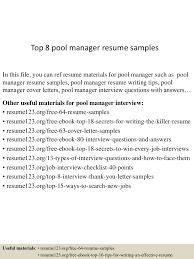 toppoolmanagerresumesamples lva app thumbnail jpg cb