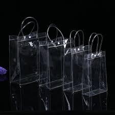 eTya Transparent Tote <b>Cosmetic</b> Bag <b>Waterproof PVC</b> Travel ...