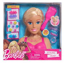 <b>Голова</b>-манекен для <b>причесок</b> Барби блондинка <b>Barbie</b> Styling ...