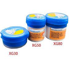 <b>Soldering Paste Flux XG</b> 30/40/50/<b>80</b> Solder Tin Sn63/Pb67 For ...