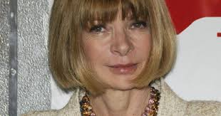 Le carré imperturbable D'Anna Wintour. Peu recopié mais trés ... via Relatably.com